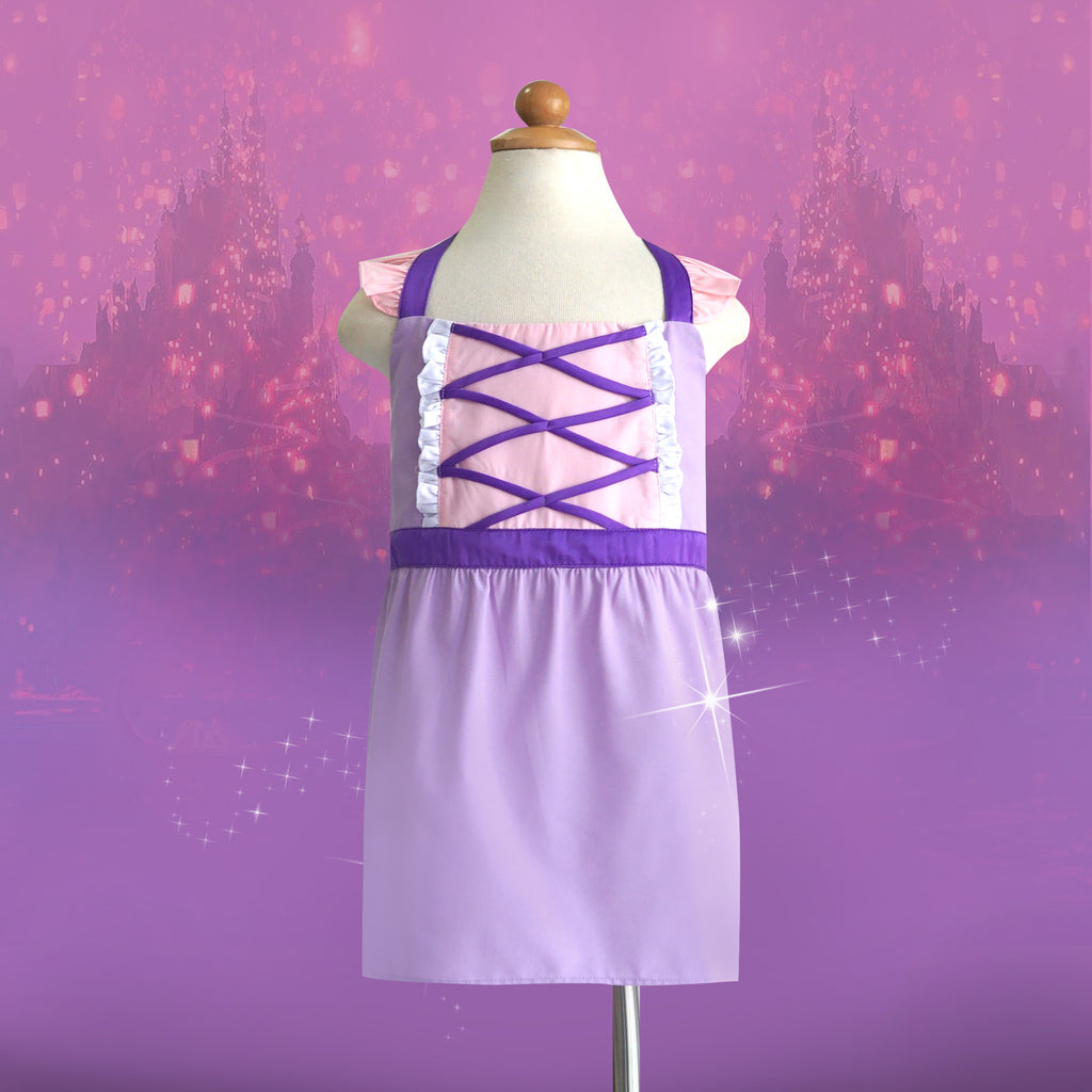 *NEW* Petite Activity Apron - Rapunzel