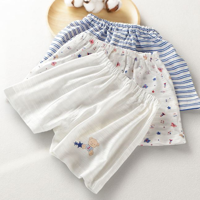Petite Homewear - Teddy Bear Shorts Up to 140cm (Set of 3)