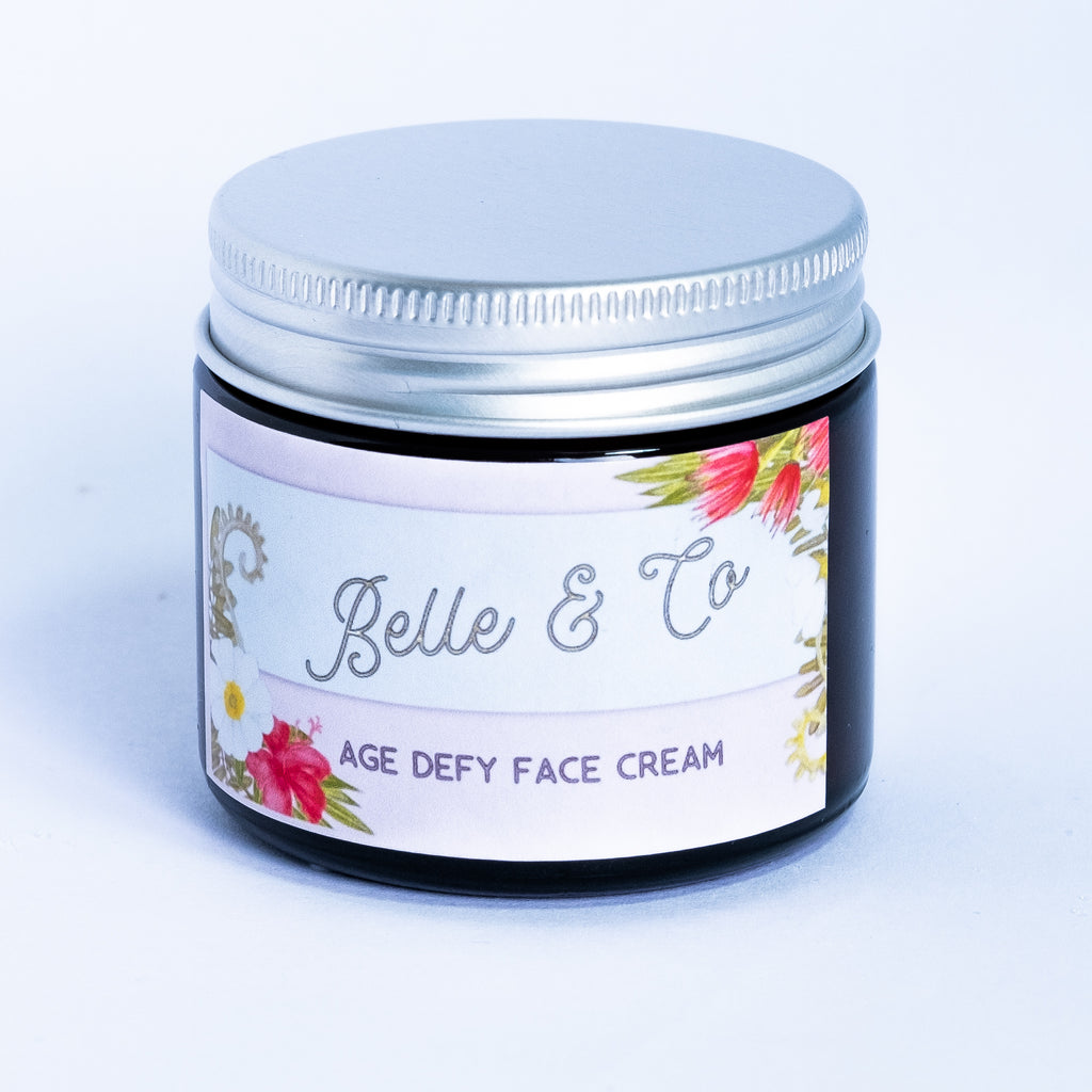 Age Defy Anti Ageing Face Cream - [product_type] - BelleandCo.co.nz - Belle & Co - plastic free beauty - organic beauty