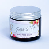 Rich Rose Collagen Boost Moisturising Night Cream - [product_type] - BelleandCo.co.nz - Belle & Co - plastic free beauty - organic beauty