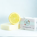 Citrus Sage Soap Free Shampoo Bar for oily hair