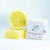 Citrus Sage Conditioner Bar for Oily Hair - Hair - BelleandCo.co.nz - Belle & Co - plastic free beauty - organic beauty