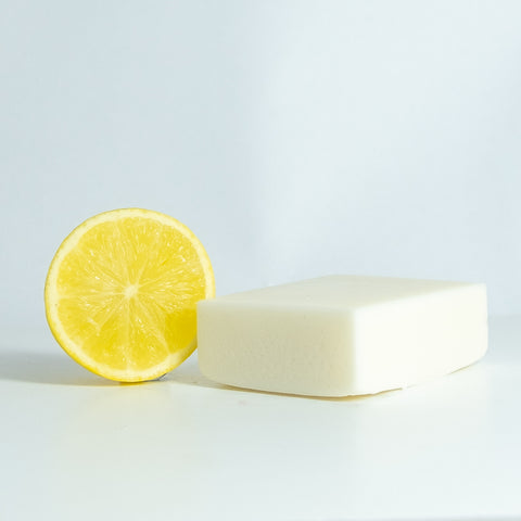 Citrus Sage Soap Free Shampoo Bar for oily hair - Shampoo - BelleandCo.co.nz - Belle & Co - plastic free beauty - organic beauty