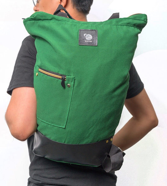 NEW MOON in Forest (2 in 1 Wild Bag) - Everest Green
