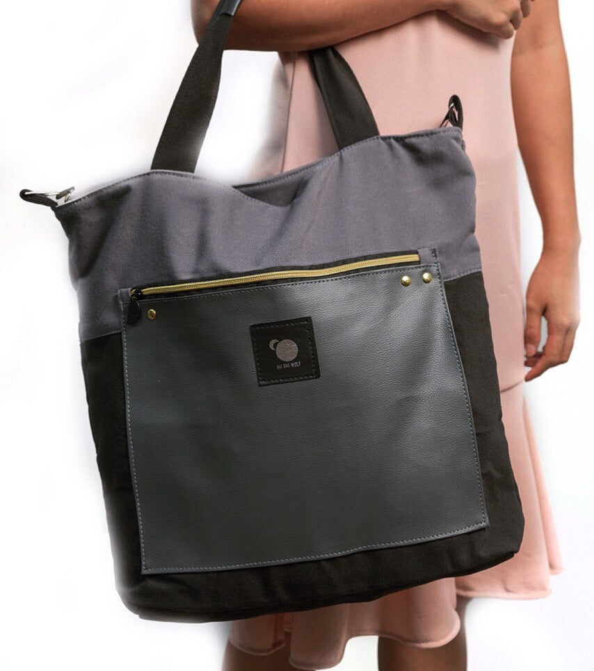 LUMINA in Grey (2 in 1 Wild Bag)