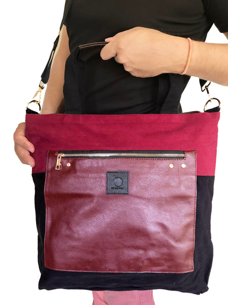 LUMINA in Blood Moon (2 in 1 Wild Bag) - Maroon
