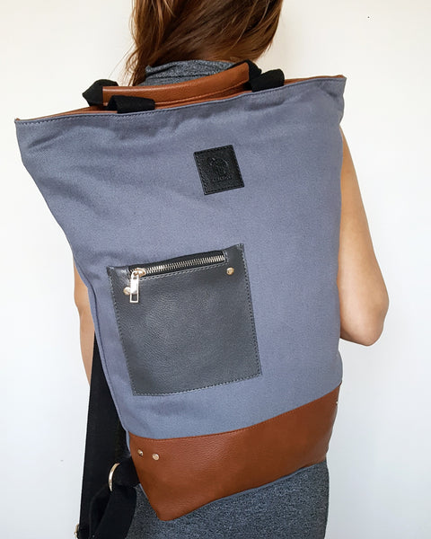 NEW MOON in Grey (2 in 1 Wild Bag)