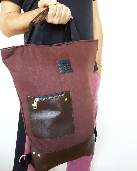 NEW MOON in Brown (2 in 1 Wild Bag)