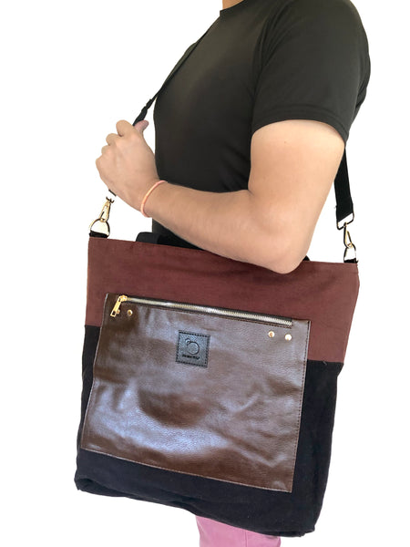 LUMINA in Brown (2 in 1 Wild Bag)