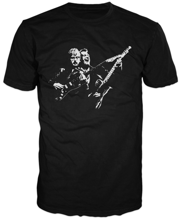 Bruce and Jamie Watson Monochrome  photo T shirt.