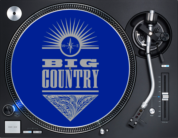 Big Country Blue Crossing  Slipmat