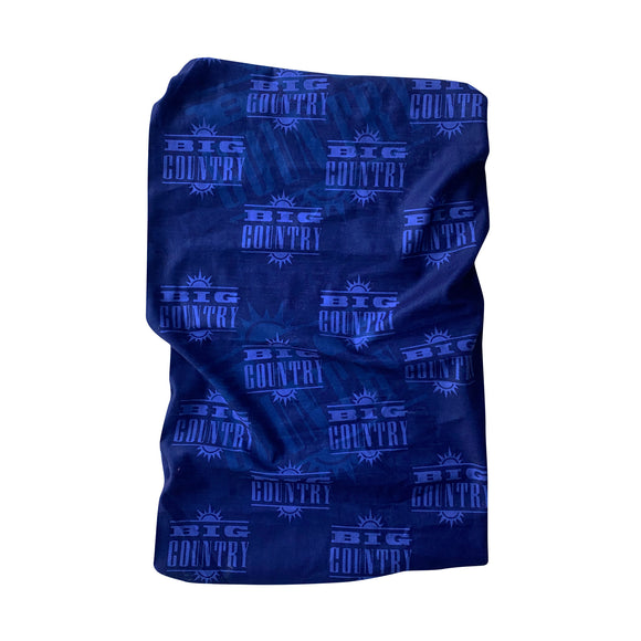 Big Country Blue Logo Snood/ Buff Face Protector