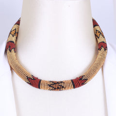 Collier traditionnel Zoulou fashion