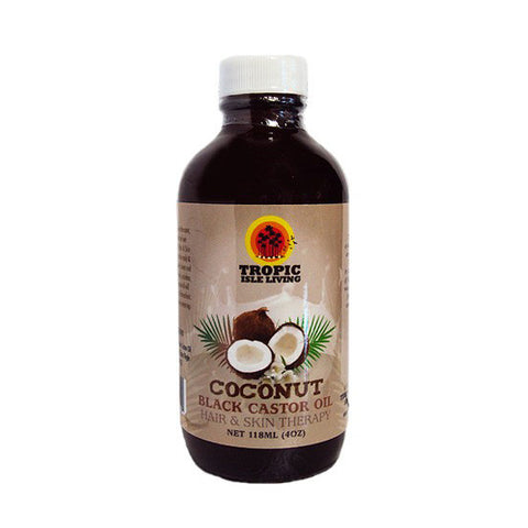Coconut Black Castor Oil Hair And Skin Therapy