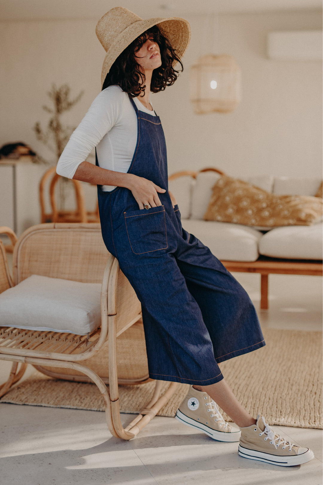 Denim Issue Jumpsuit Indigo
