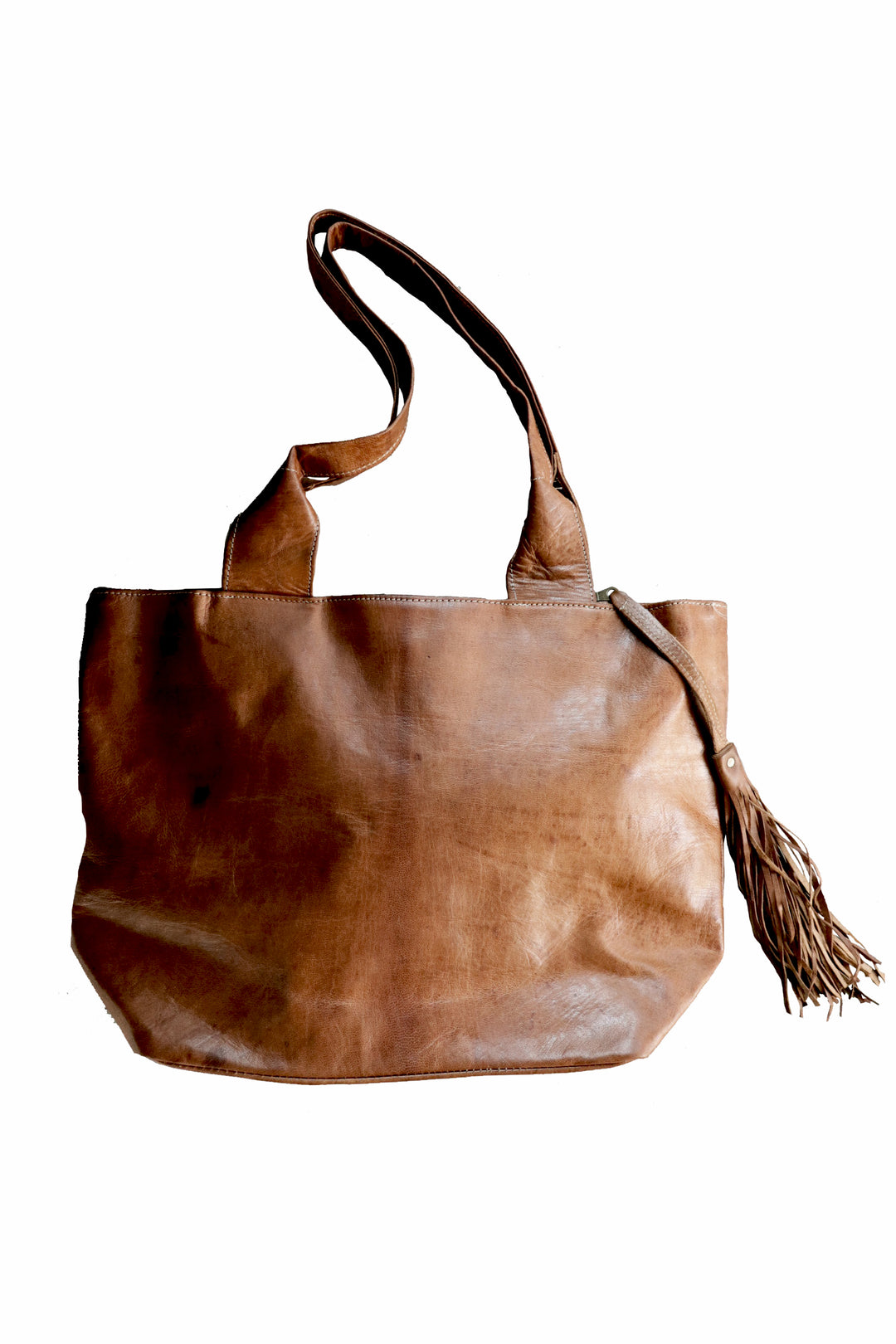 leather tote dirham