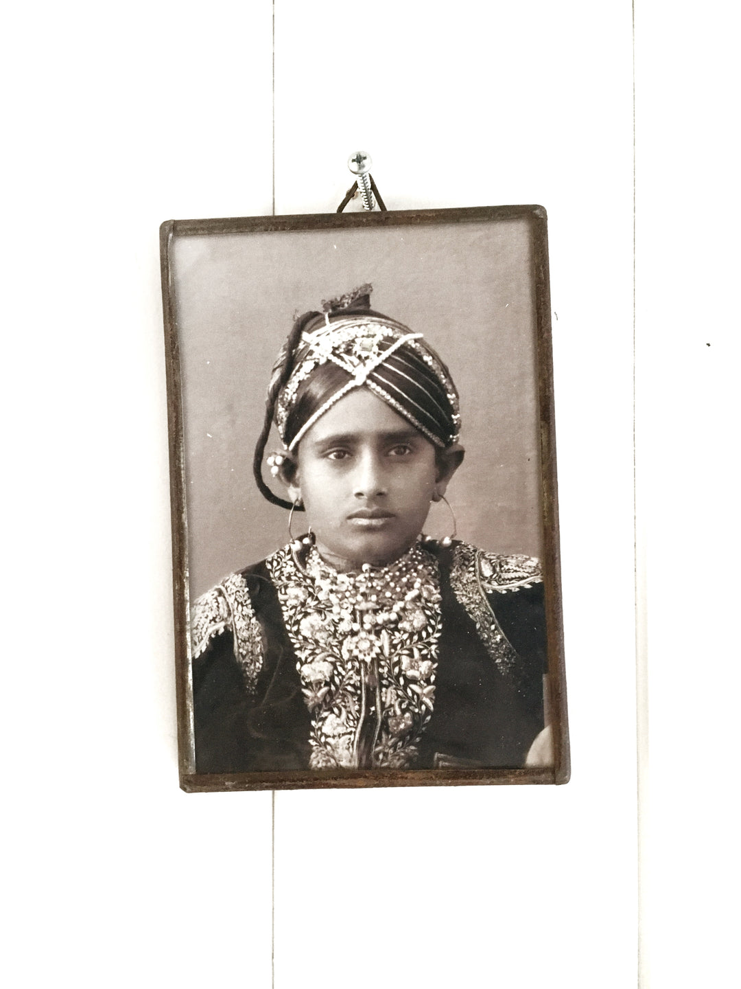 maharaja framed miniature