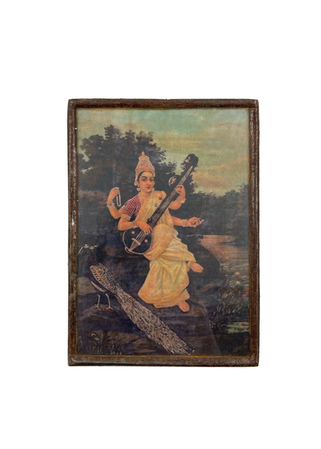 Saraswati and veena Ravi Varma