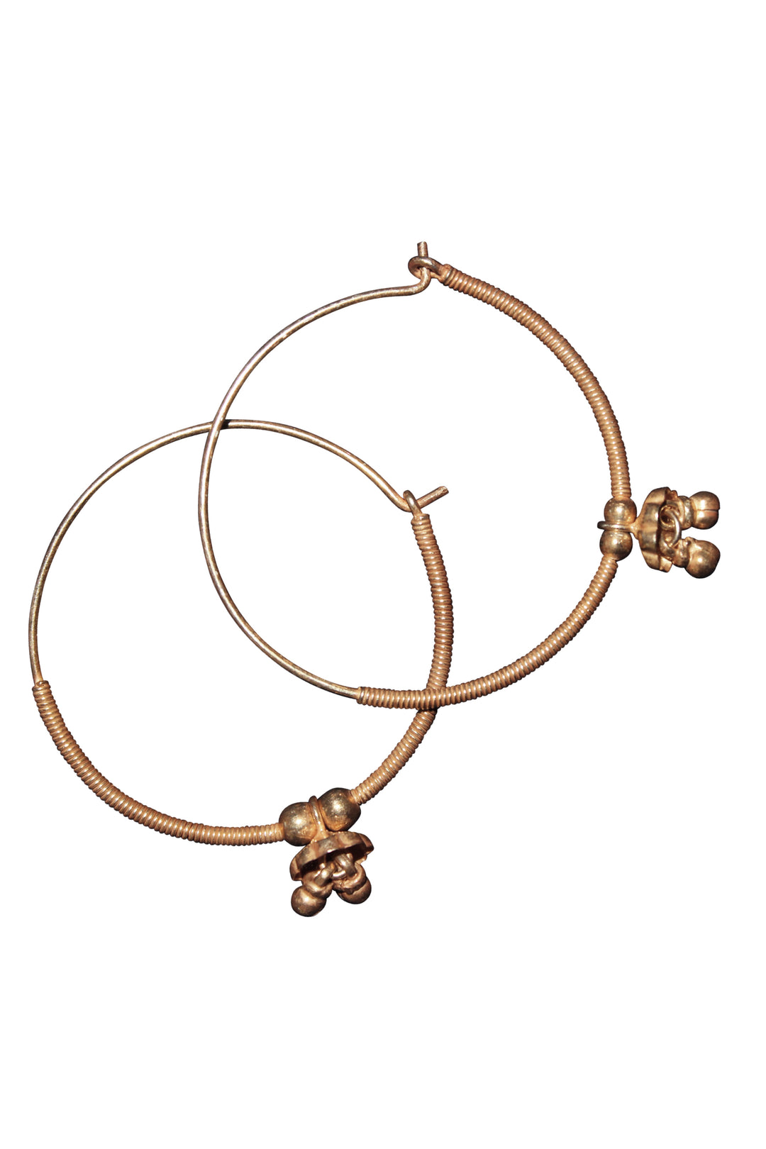 gold mewar hoops