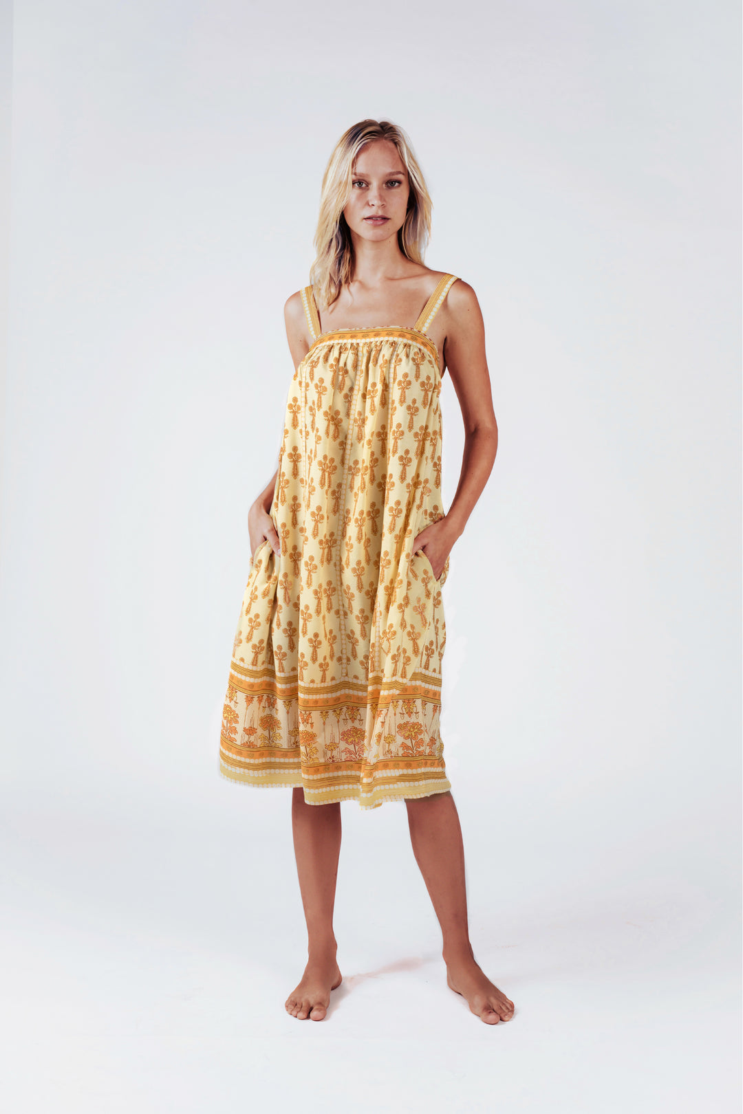 Marigold Fields Sundress