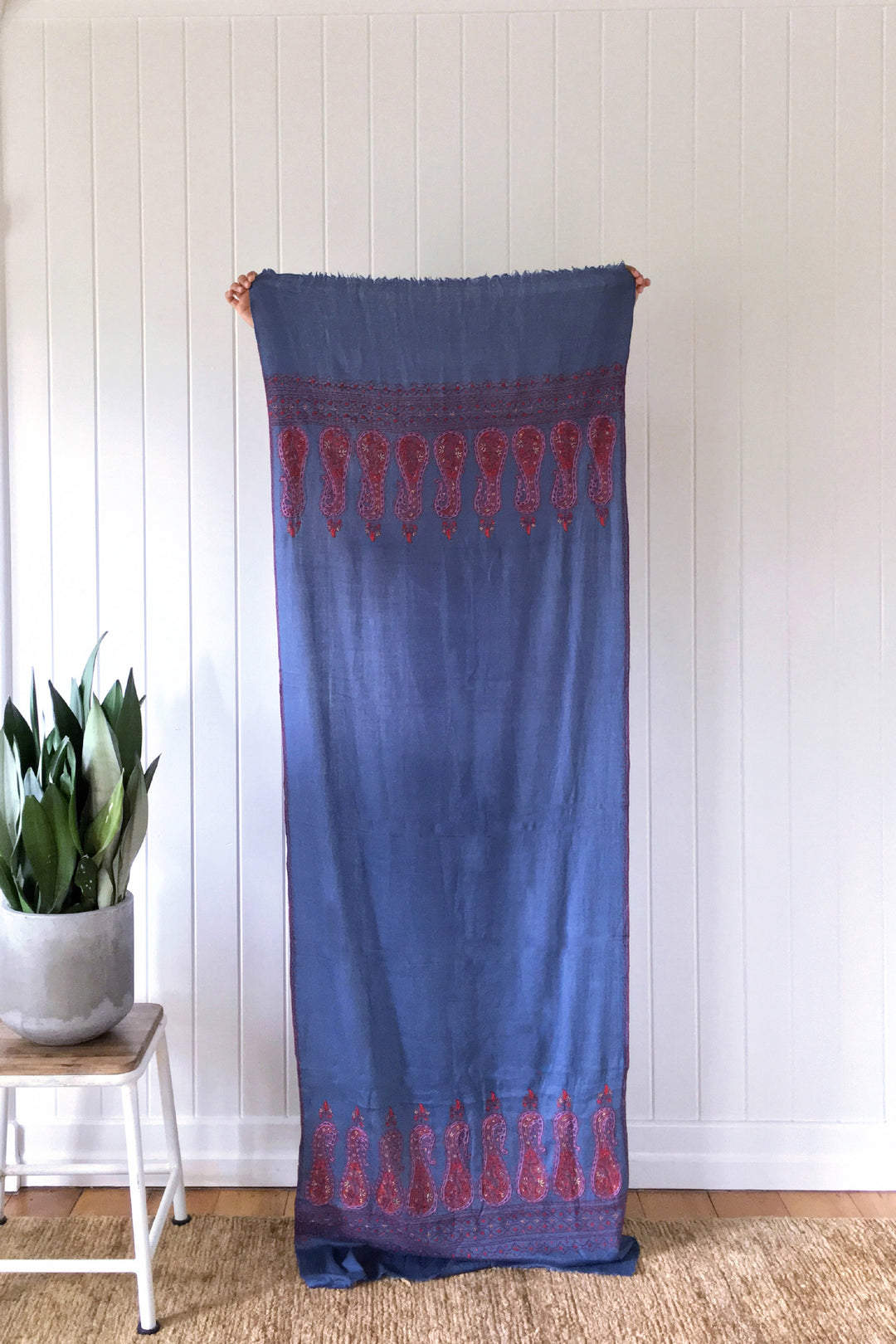 Jodhpur shawl embroidered kashmir
