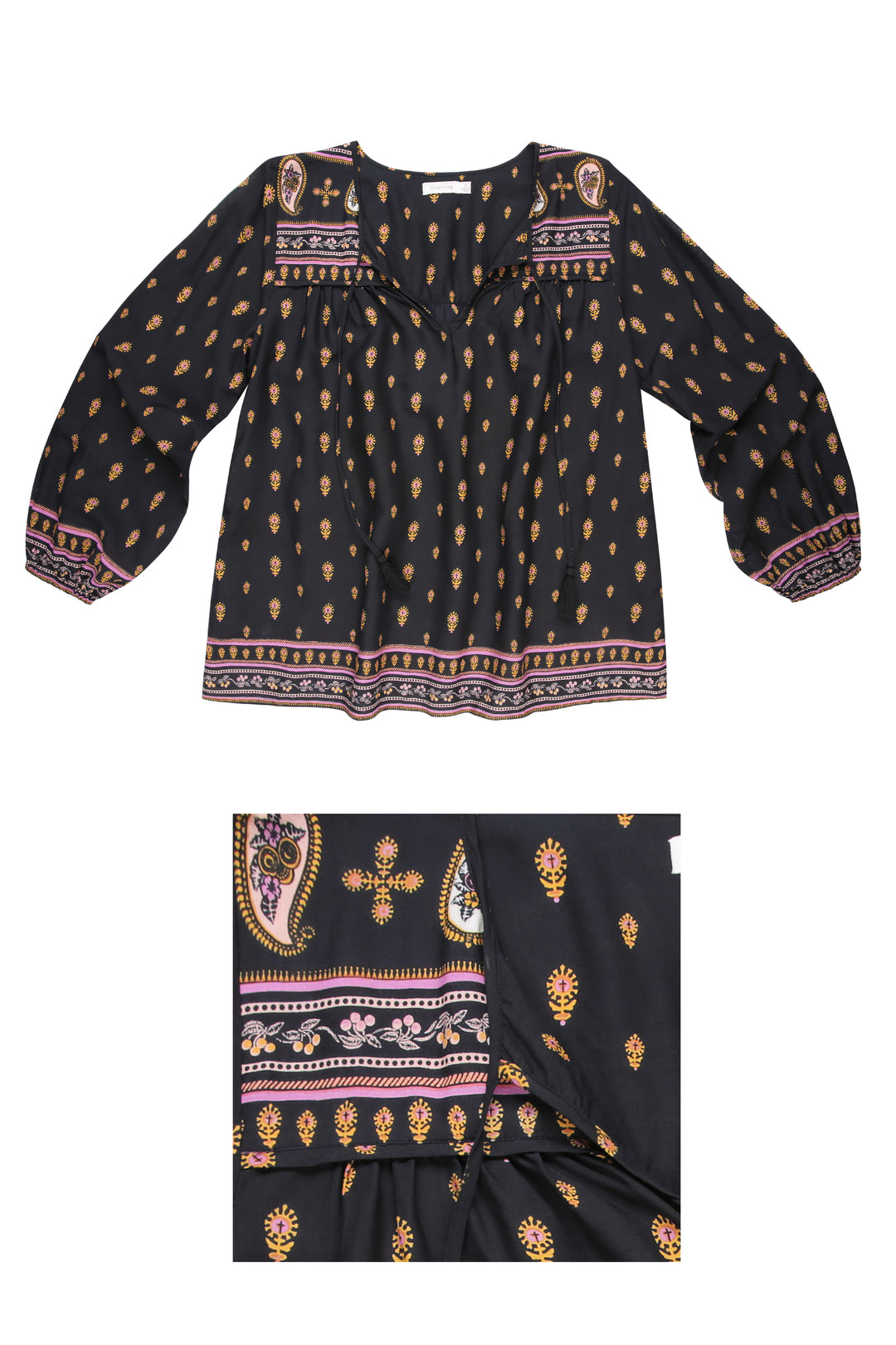 Final Sale: Pondicherry Folk Blouse