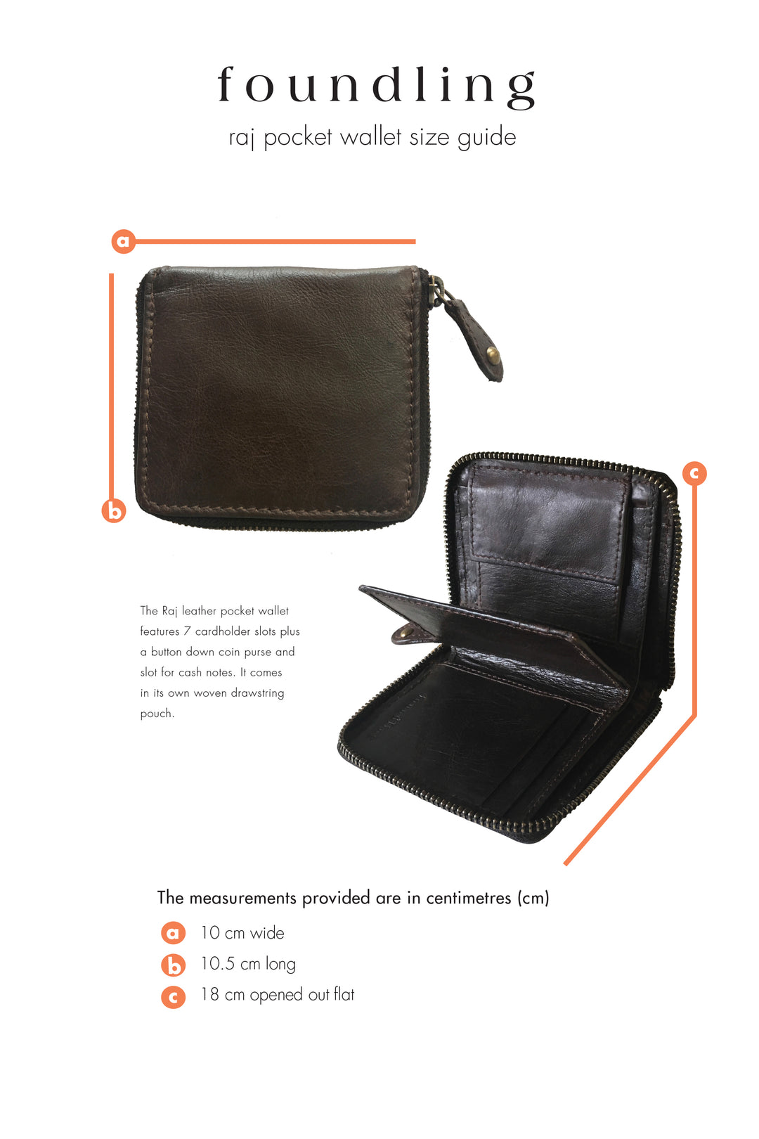The raj zip wallet