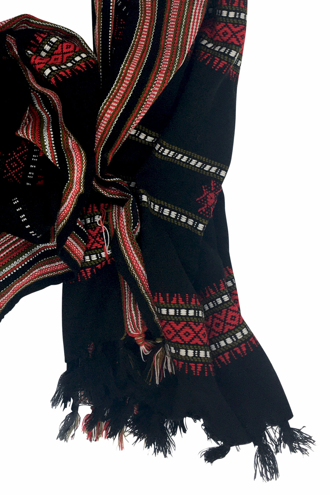 Kutch embroidered Wool Shawl Andhera