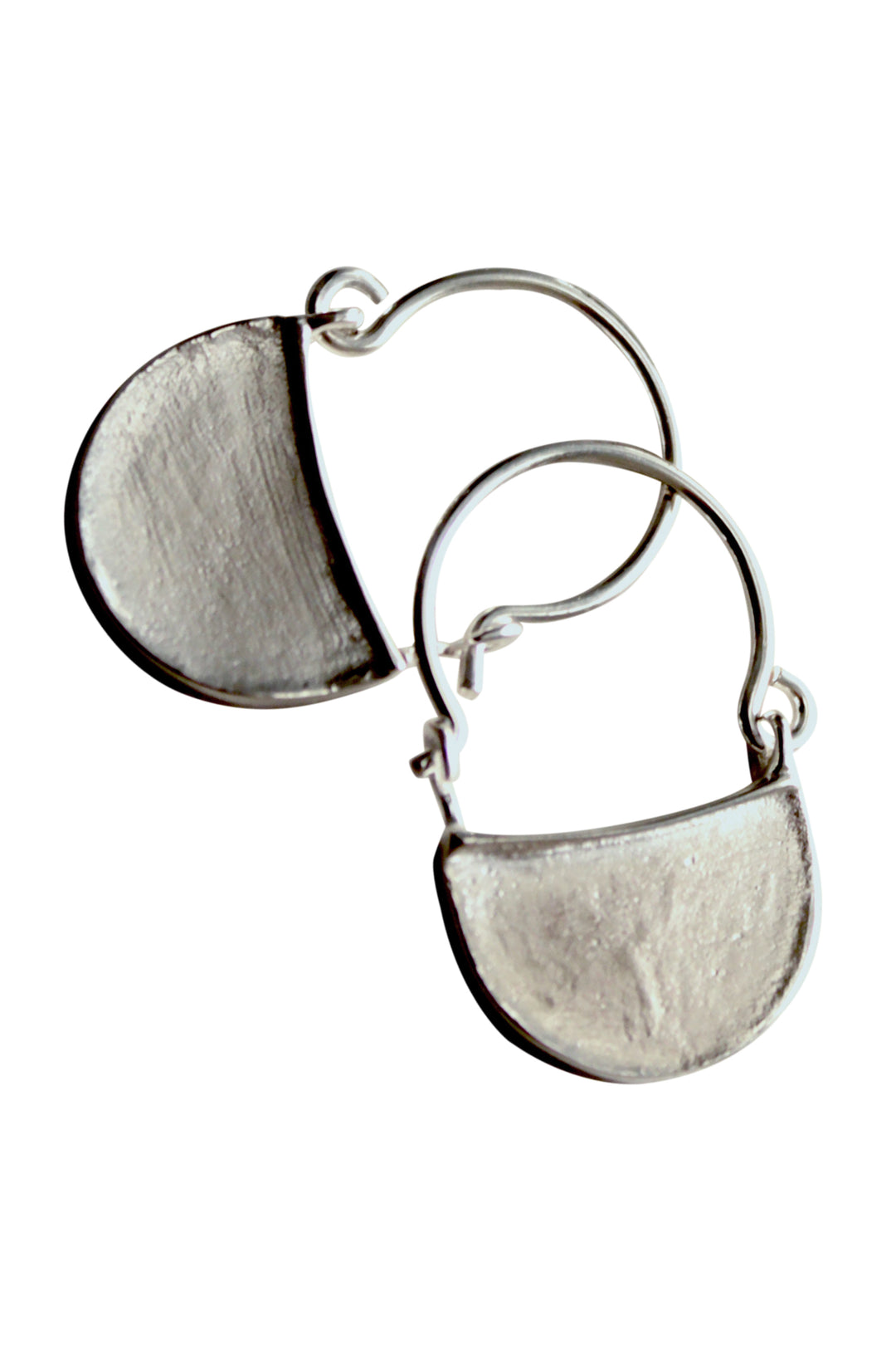 Byzantine slave earrings silver