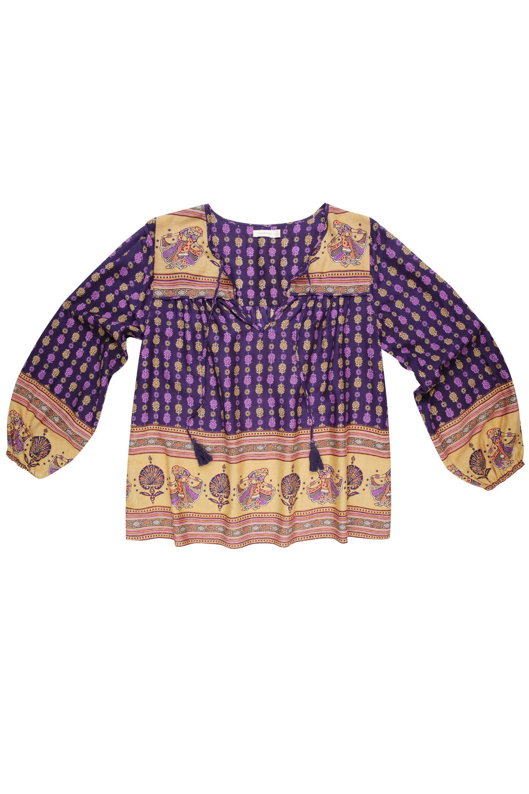 final sale: Chakri Folk Blouse Moondancer