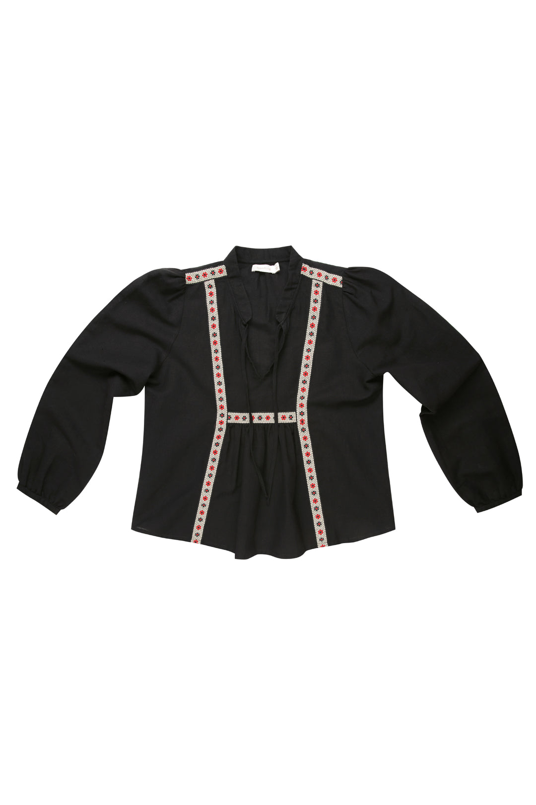 clearance: Prairie Ribbon Blouse Nelly