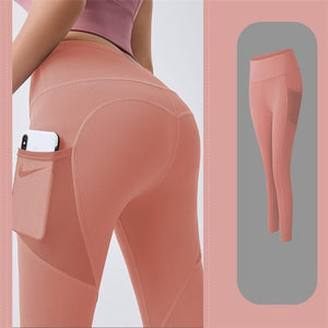 High Waist Gym /Yoga/Fitness Leggings For Women- Compression Stretch With Pocket