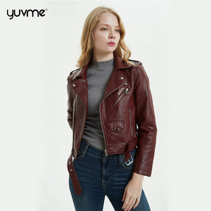 Designer Leather jackets for Women