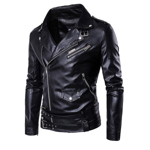Fashion Black Leather Jackets for Men -Limited Edition