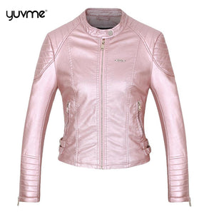 Trendy Leather Jackets for Women