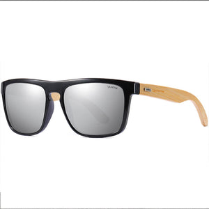 Natural Bamboo Polarized & UV Protected Sun Glasses