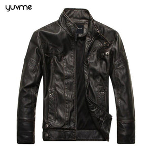 Classic Genuine Leather Jacket for Men