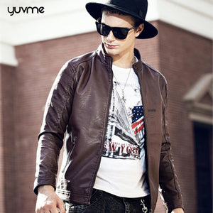 Trendy Genuine Leather Jackets For Men