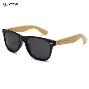 Ultra Stylish Bamboo Polarized & UV protected Sunglasses