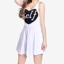 Load image into Gallery viewer, SelfLove Women's Sleeveless Midi Casual Flared Skater Dress