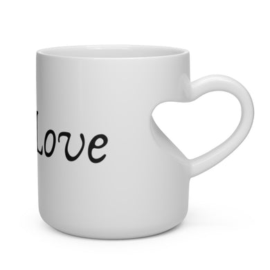 Self-Love Heart Shape Mug