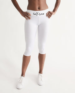 Simply Self Leggings Women's Mid-Rise Capri