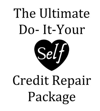The Ultimate Do It Your Self Credit Repair Package