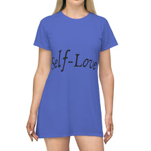 Load image into Gallery viewer, Self-Love T-Shirt Dress