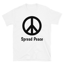 Load image into Gallery viewer, Spread Peace Unisex T-Shirt