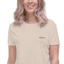 Load image into Gallery viewer, Self love Crop Tee