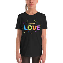 Load image into Gallery viewer, Choose Love Youth Short Sleeve T-Shirt