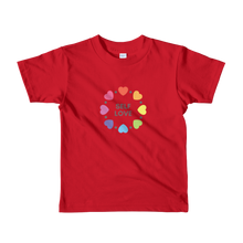 Load image into Gallery viewer, Circle of love kids t-shirt