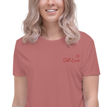 Load image into Gallery viewer, Self Love love Crop Tee