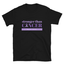 Load image into Gallery viewer, Stronger than Cancer Unisex T-Shirt